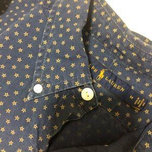 Ralph Lauren Short Sleeve Button Shirt - Medium